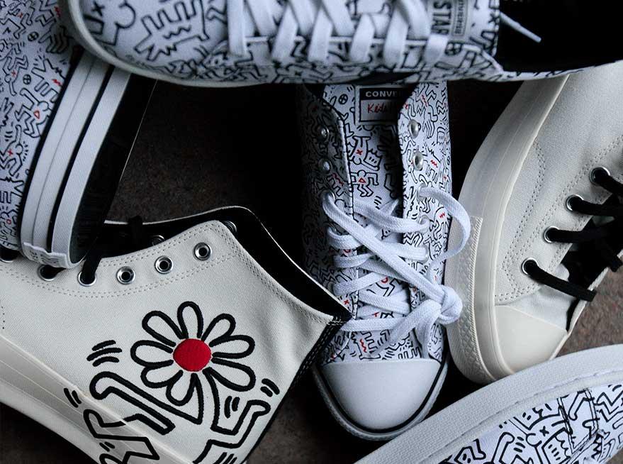 Converse X Keith Haring