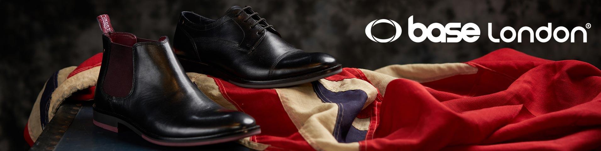 Scarpe eleganti da uomo Base London blu | La collezione su