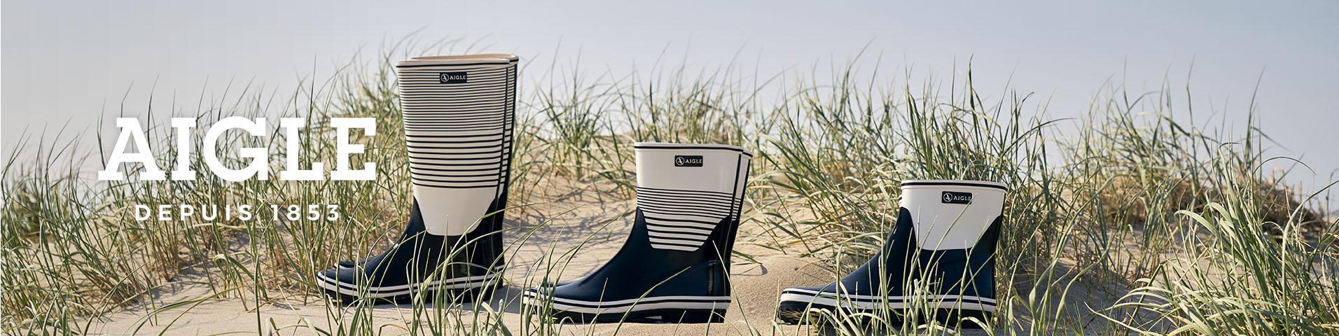 online retailer 00dc1 db508 Aigle Gummistiefel kaufen - Sag Adé zu schlechtem Wetter ...