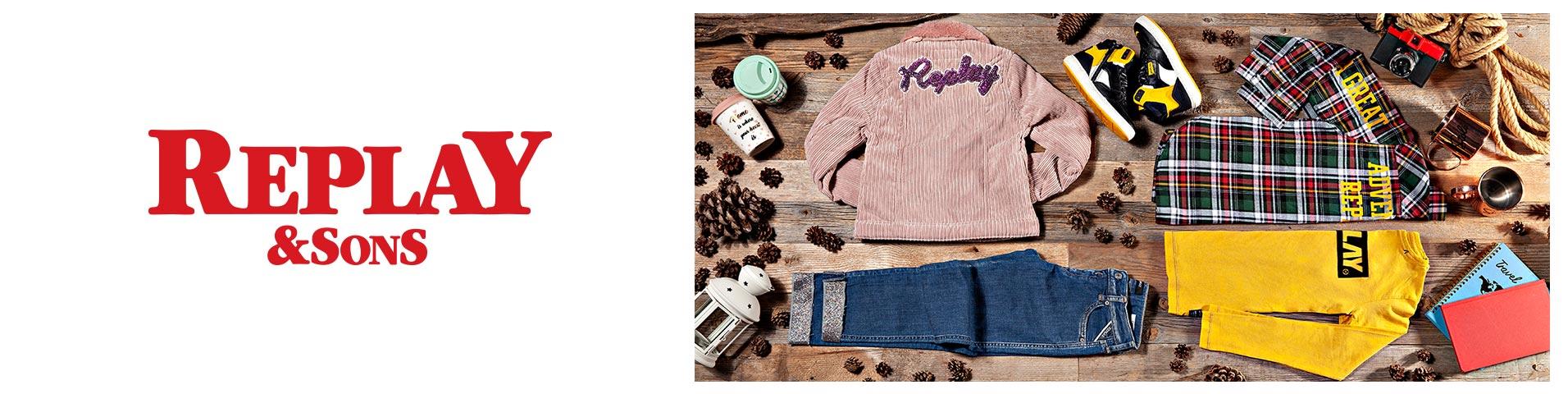 Blå Replay Bukser & Jeans | Barn | Barneklær på nett hos Zalando