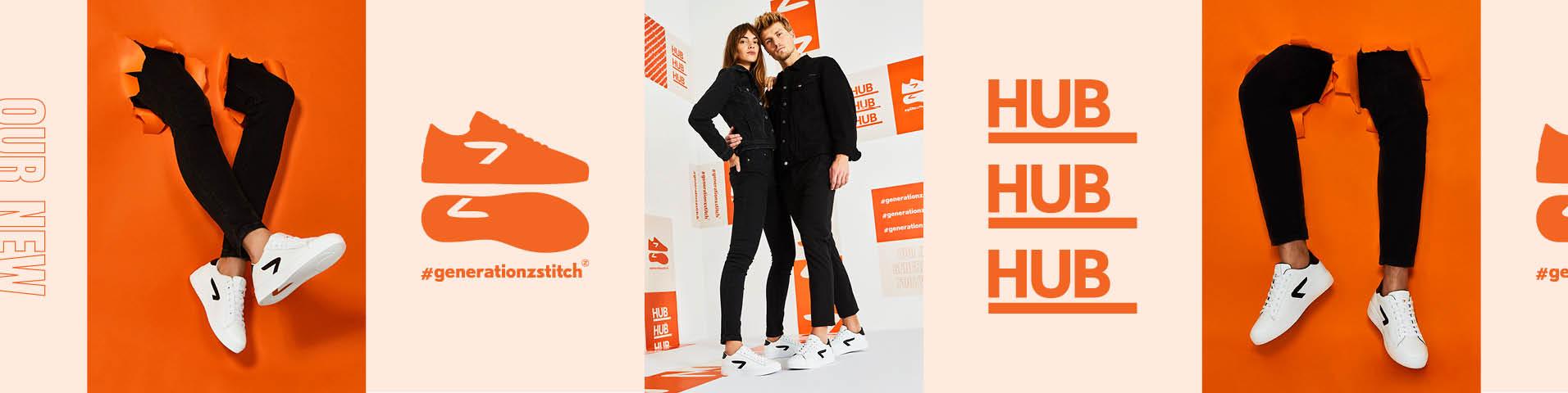 Olivengrønne HUB Sko på nett | | Kjøp nye sko på nett hos