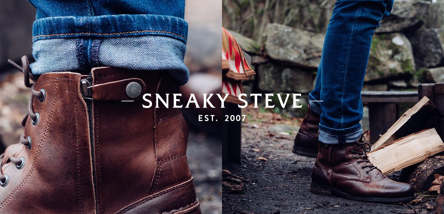 Sneaky Steve shoppen