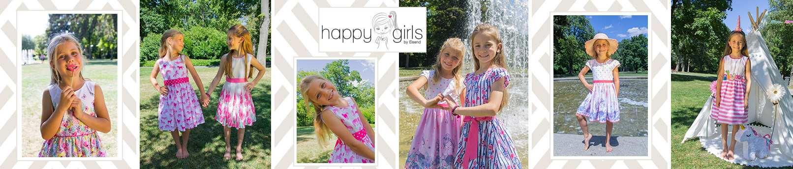 happy girls shoppen