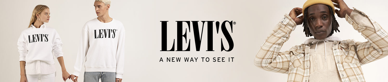 Découvrir Levi's® Serif Logo