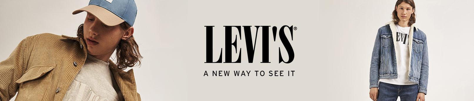 Tutustu brändiin Levi's® Serif Logo