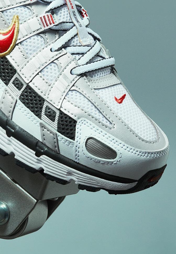 Bequeme Nike 83 Waffle Damen Schuhe Grau Schwarz : 50