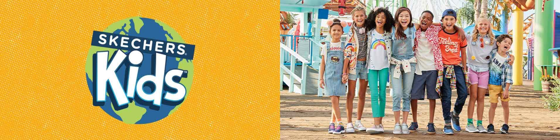 Kolorowe Odzież i buty dziecięce Skechers w Zalando
