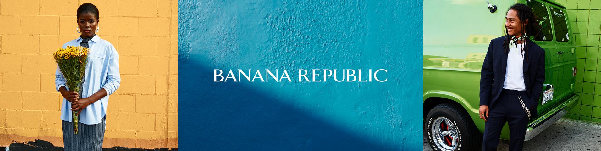 Banana Republic MICRO PLEAT - Blus - white