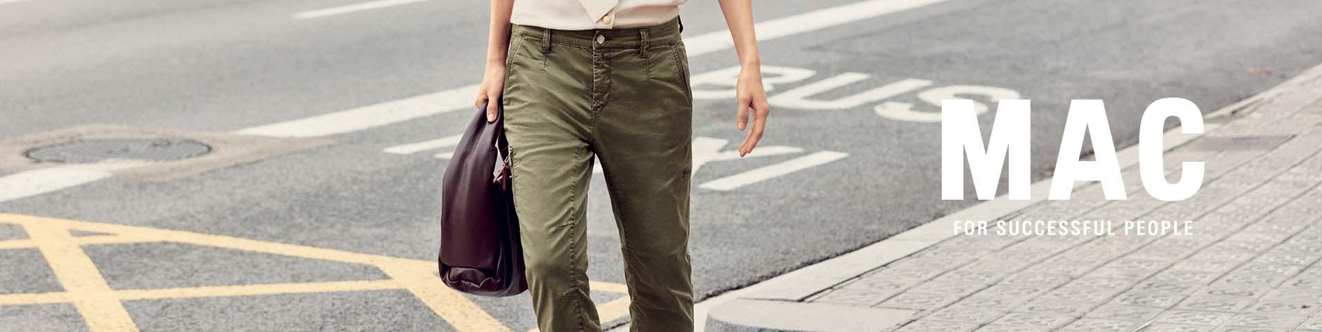 MAC Jeans Damen Hose  STELLA weißtöne