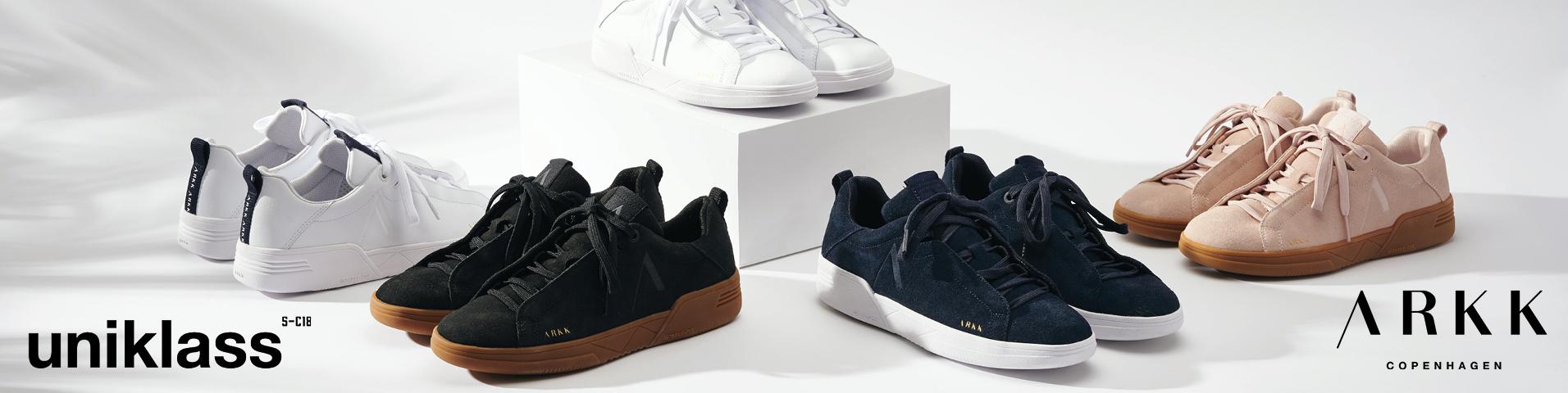 ARKK Copenhagen UNIKLASS - Sneakersy niskie - white/midnight