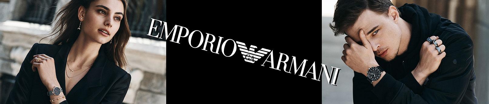 Odkryj Emporio Armani