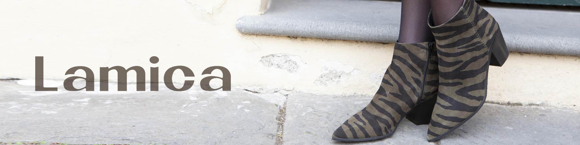 lamica schoenen utrecht, Lamica Dames Overknee laarzen