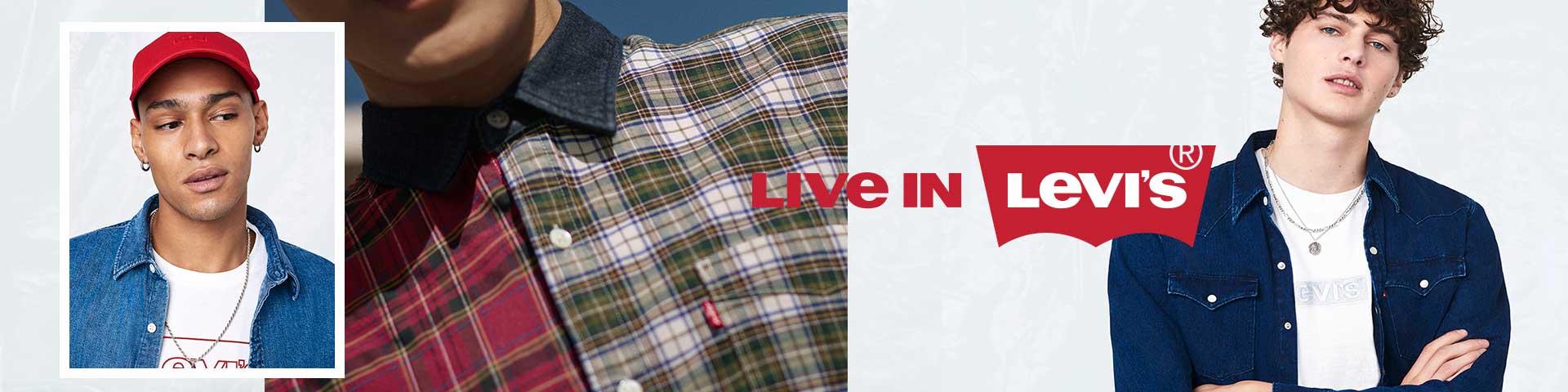 Levi's® Herrenshirts in großer Auswahl online entdecken