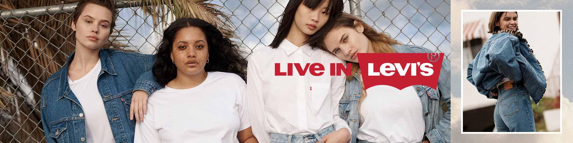 Levi's® Damen Jeans | Entdecke deine perfekte Jeans online