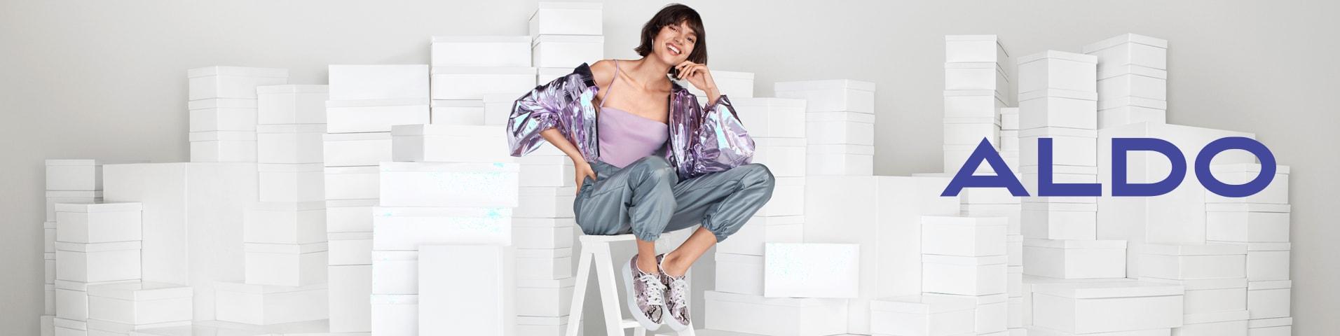 Oliwkowe Moda damska ALDO w promocji | Tanie buty, ubrania i