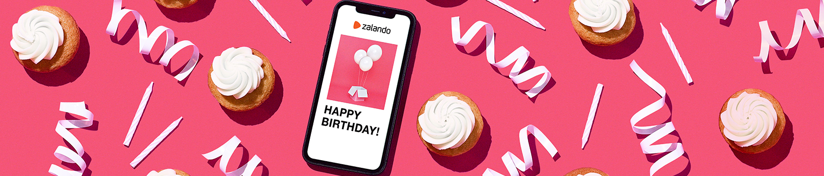 Zalando Gift Cards - Something new for Birthday