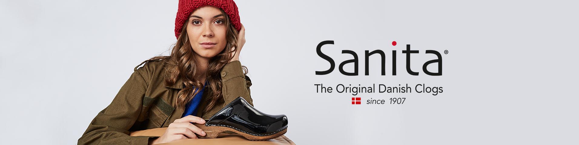 Scarpe donna Sanita rosso | Grande assortimento di calzature
