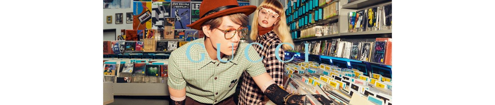 Shop Gucci Eyewear