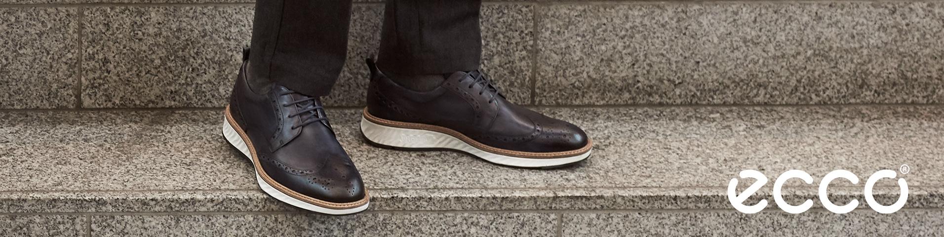 Ecco Schnürer oder Schnürschuhe für Herren : chic und