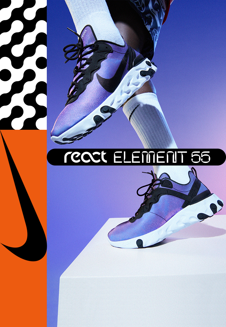 new product a0b77 aa83e Nike React Element 55