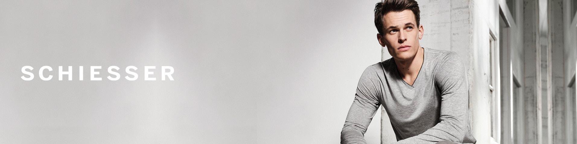 Schiesser Online Outlet Mode für Herren im SALE| Jetzt