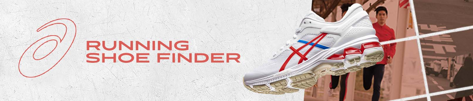 ASICS SHOE FINDER