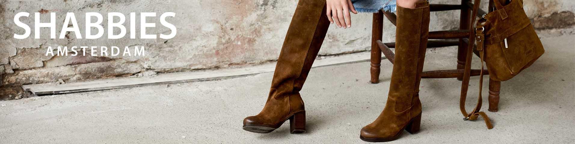 Shabbies Damen Schnürschuh in beige kaufen | Zumnorde Online