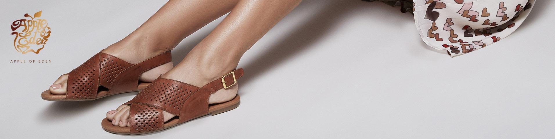 zalando buty damskie klapki