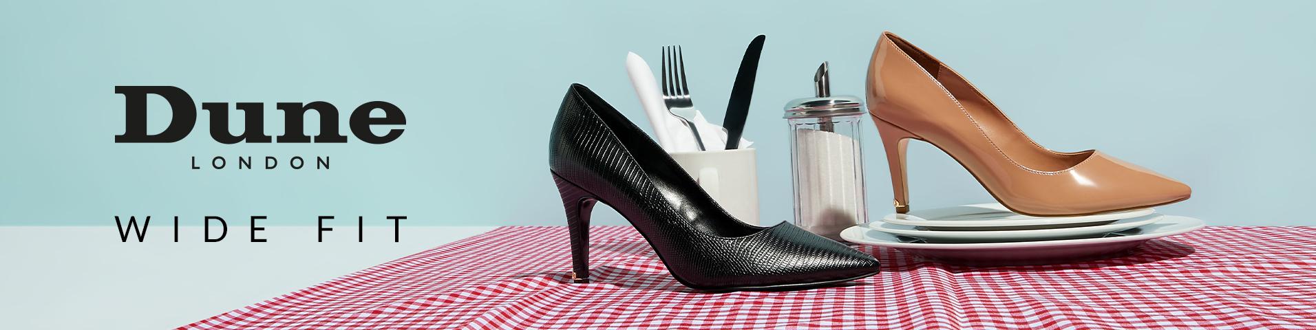Dune London WIDE FIT Sko | Køb dine nye sko online hos