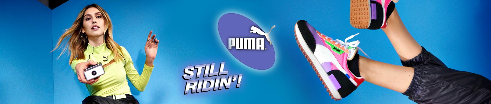 Entdecke den Puma Rider