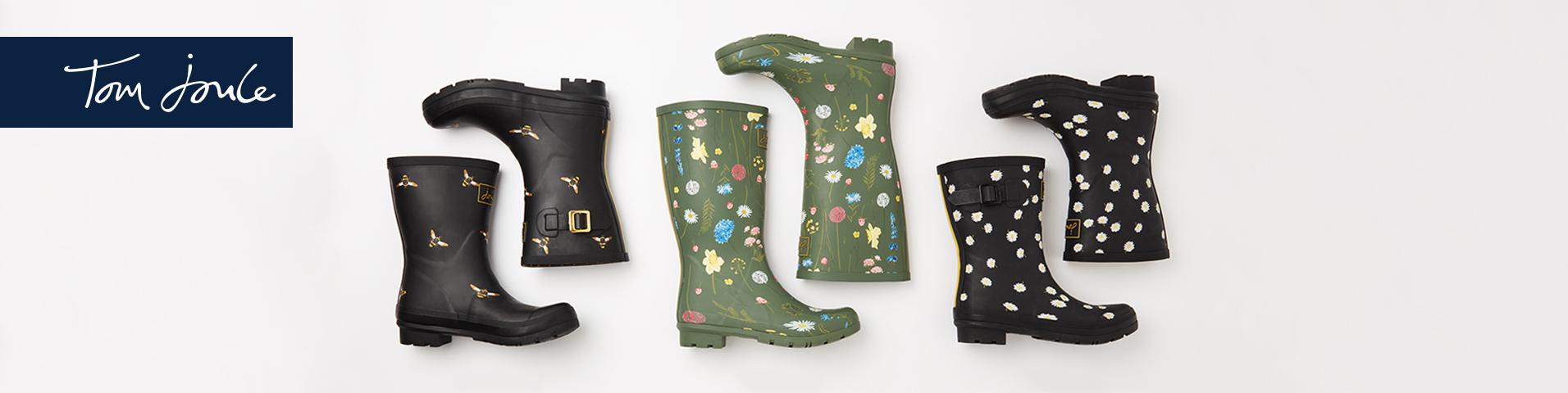 Tom Joule Gummistøvler | Damer | Køb din nye gummistøvle