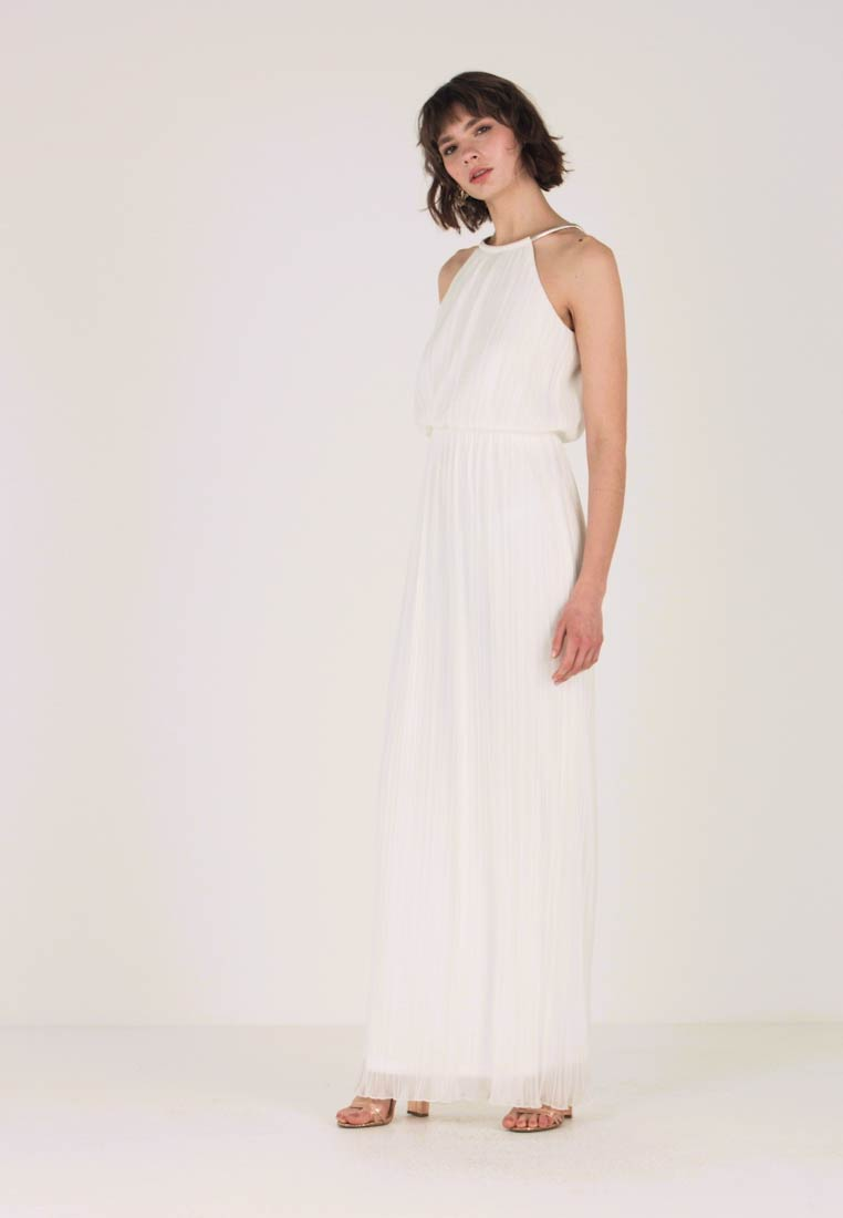 Apart - LONG DRESS WITH CHAIN - Robe de cocktail - cream - 1