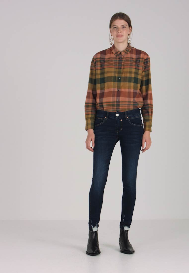 Herrlicher - TOUCH CROPPED - Jeans Skinny Fit - dull - 1