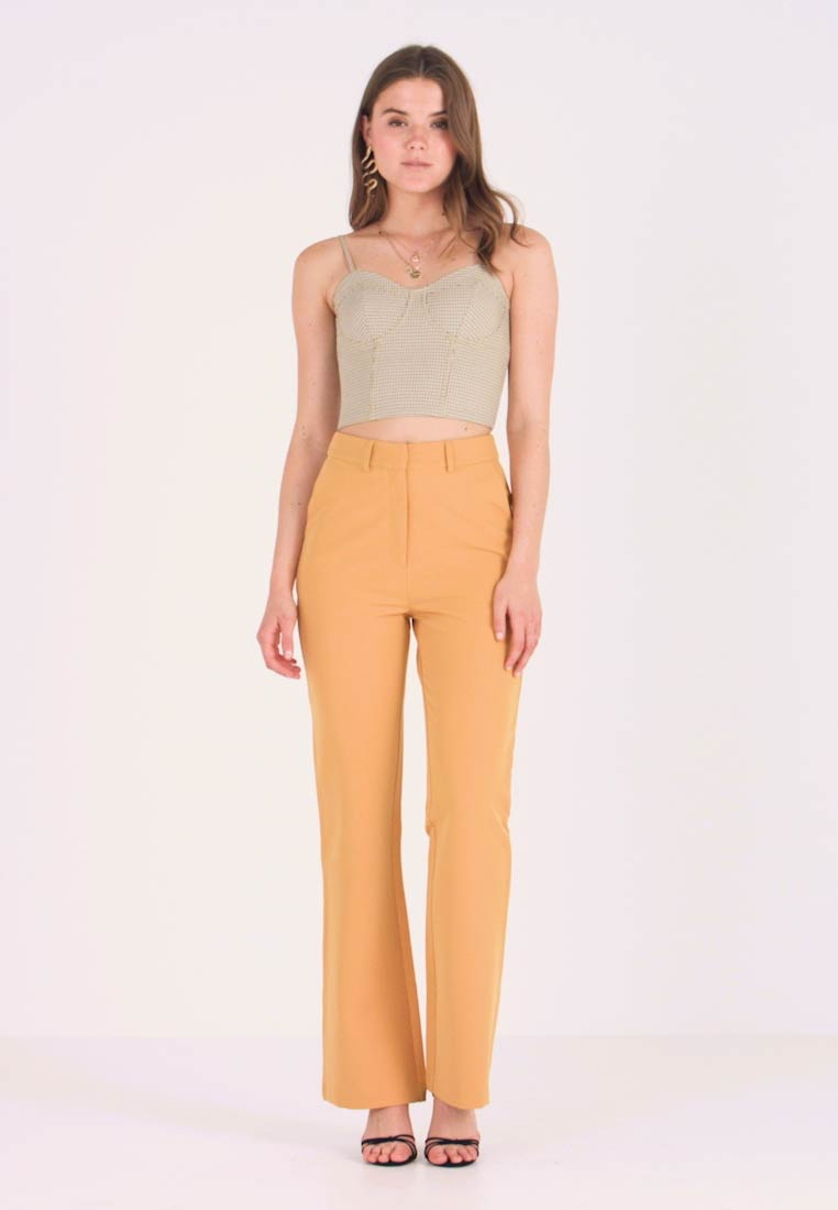 4th & Reckless - EXCLUSIVE MARIANNA TROUSER - Kalhoty - yellow - 1