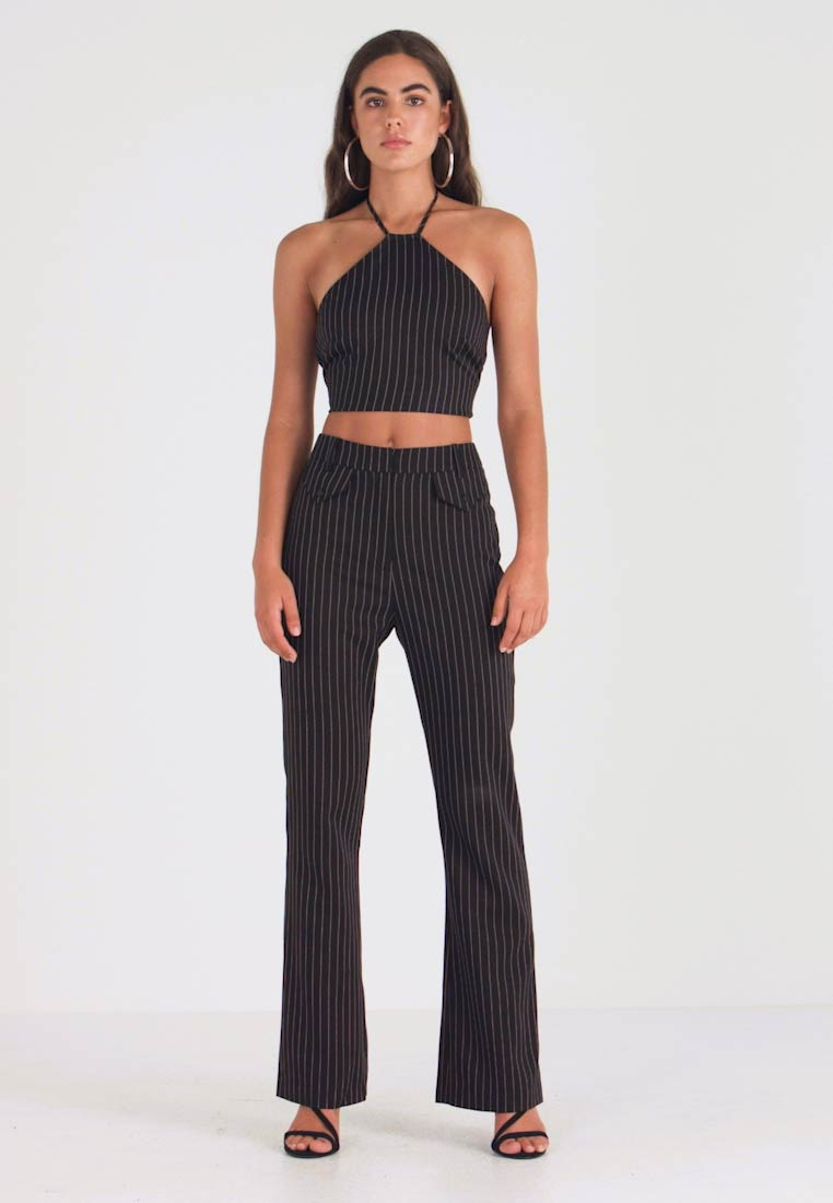 4th & Reckless - MARIANNA TROUSER - Kalhoty - black - 1
