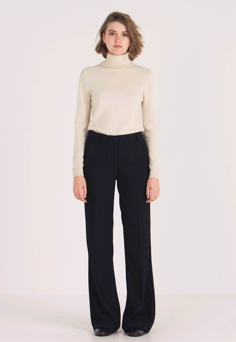 Sisley - TROUSERS - Pantaloni - black - 1
