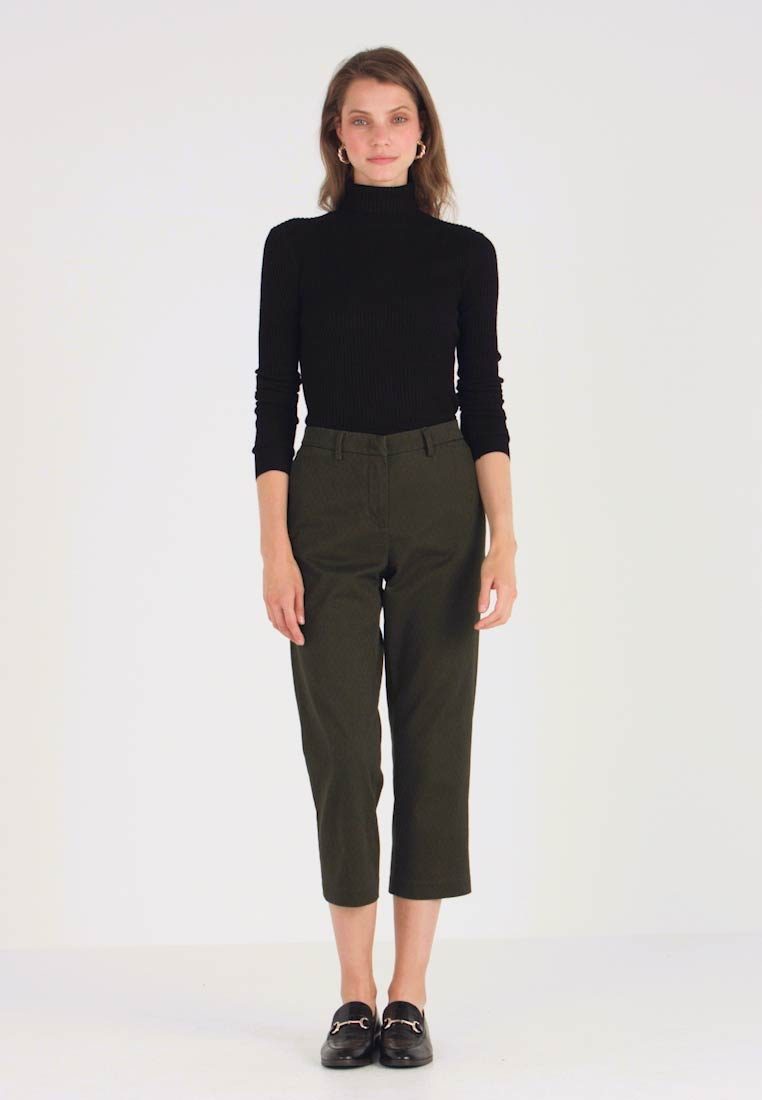 Sisley - TROUSERS - Trousers - olive - 1