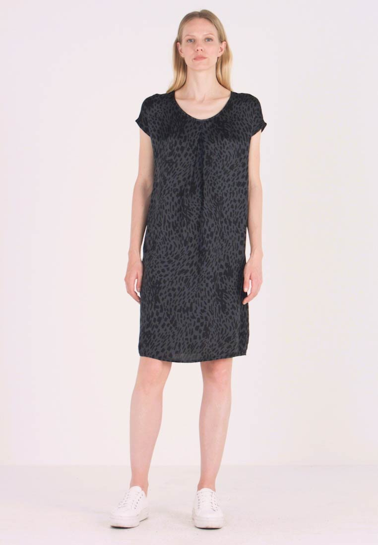 Aaiko - MADRID SPOTS - Day dress - steel grey - 1