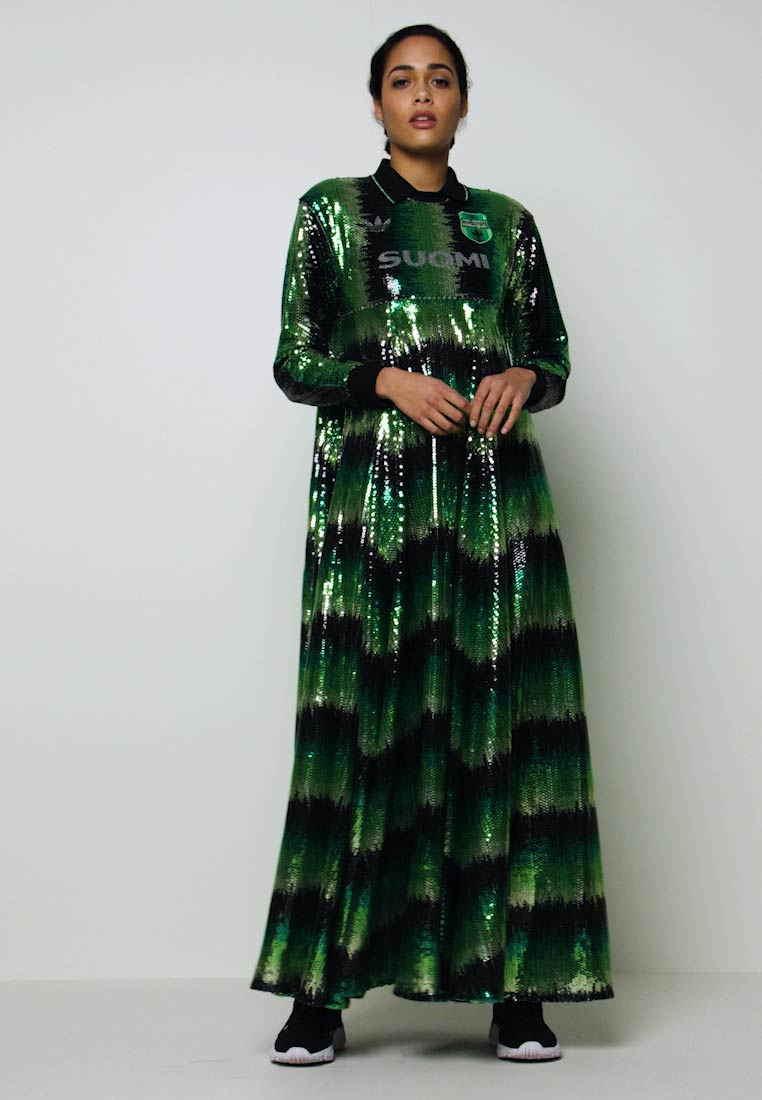 DRESS SUOMI - Maxi-jurk - multicolor/mist jade