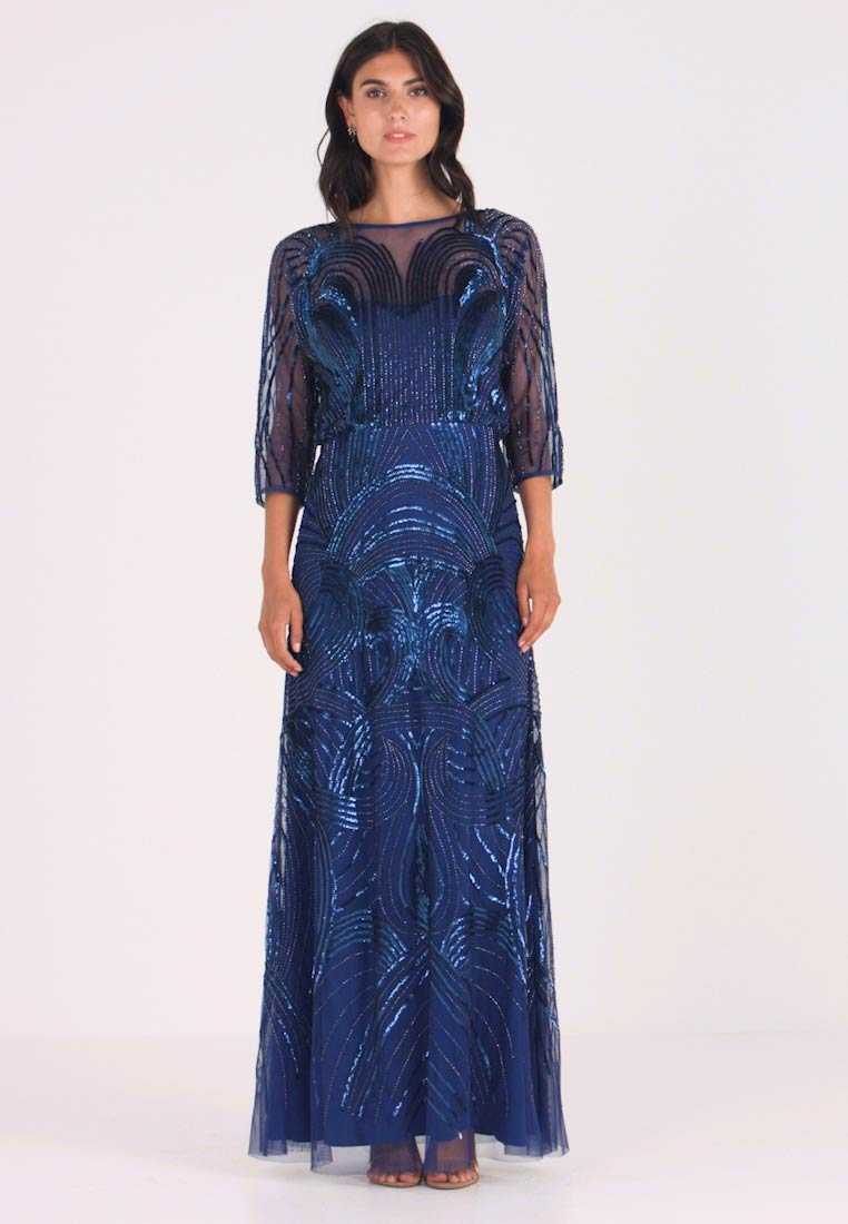 Adrianna Papell - BEADED MERMAID GOWN - Occasion wear - night flight - 1