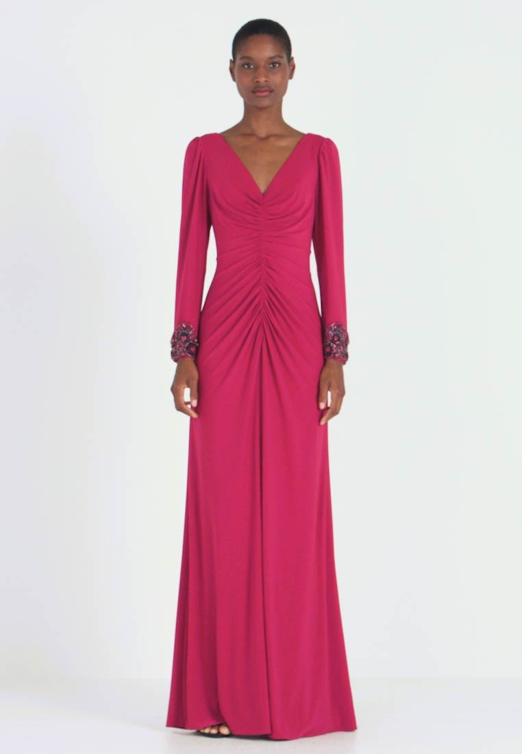 Adrianna Papell - DRAPED GOWN - Occasion wear - red plum - 1