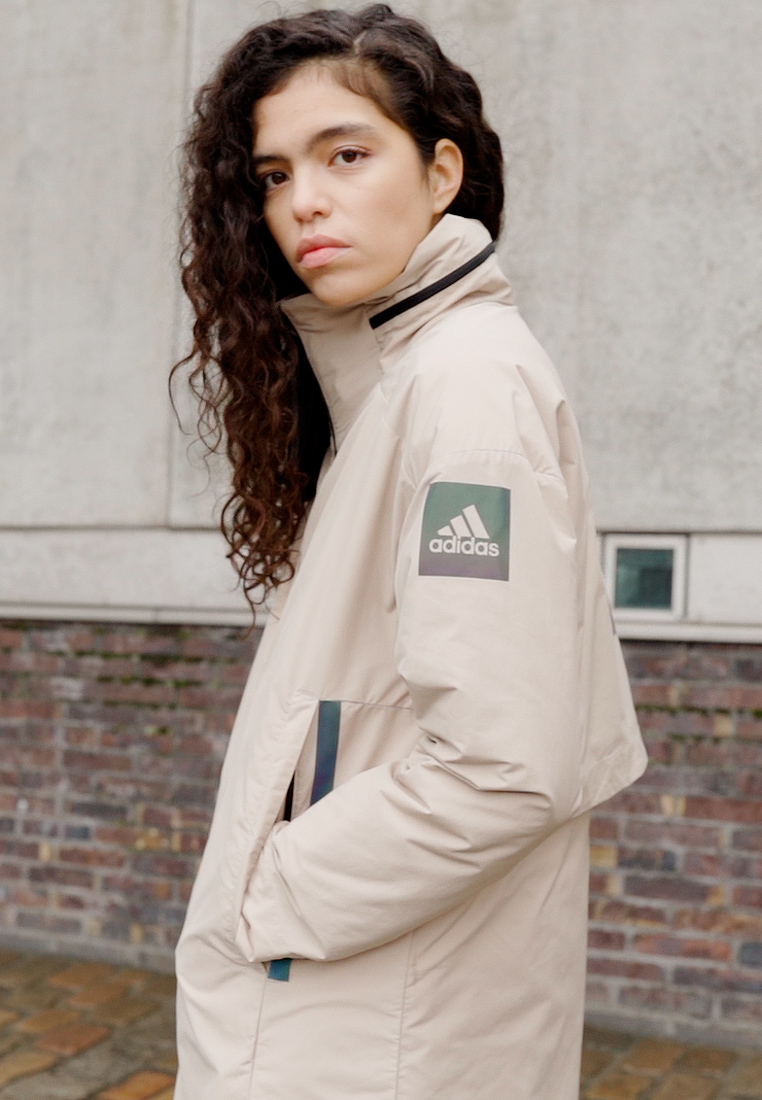 adidas Performance - MYSHELTER 4IN1 PARKA - Parkatakki - savannah - 1