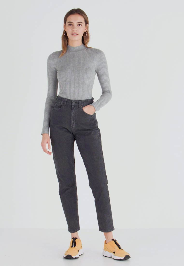 American Eagle - CURVY - Trousers - willow green - 1
