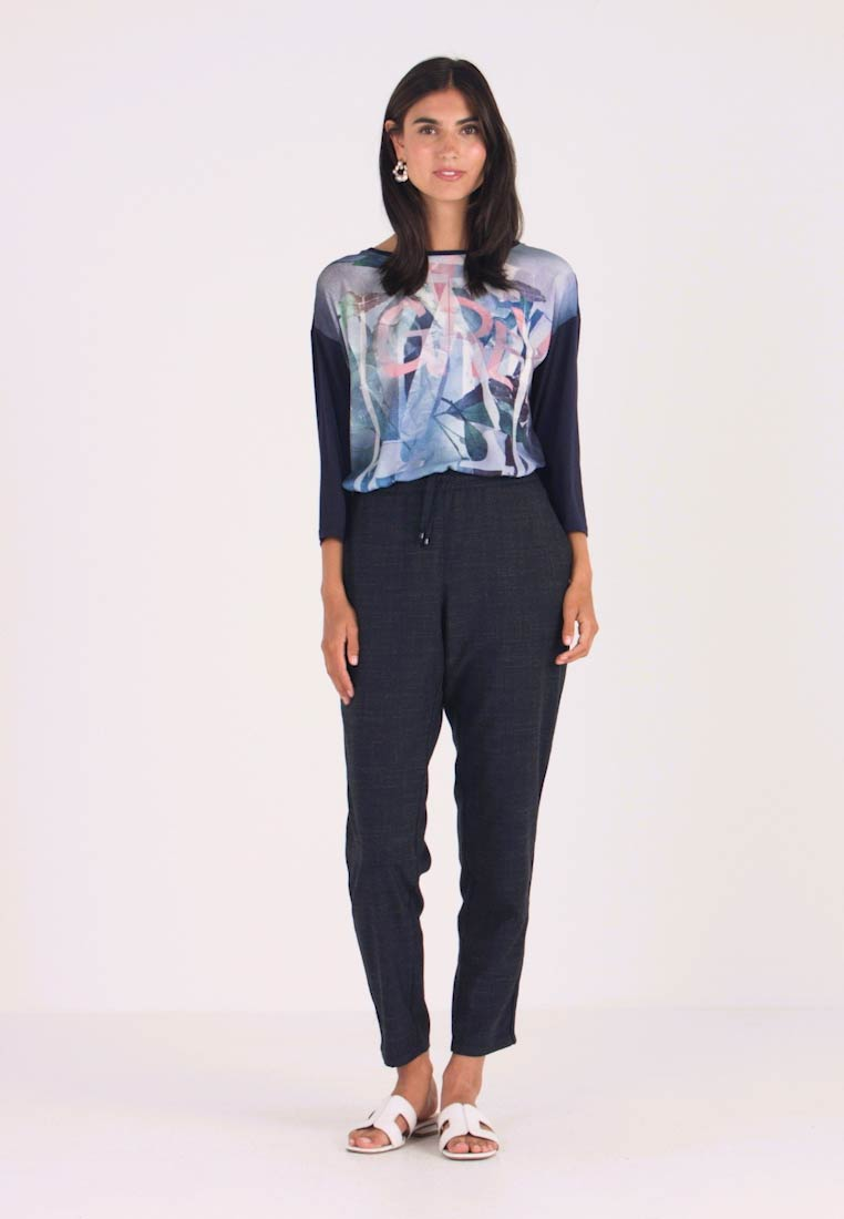 Betty & Co - Trousers - navy blue - 1