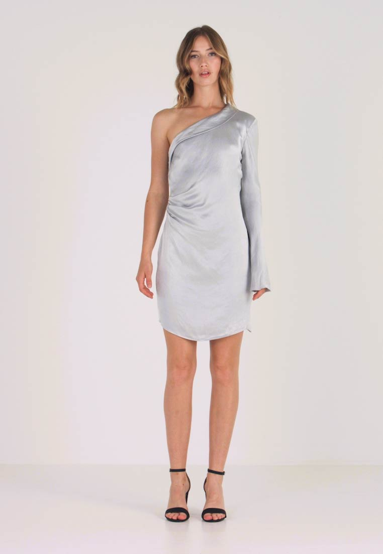 Bec & Bridge - CAROLINE MINI DRESS - Cocktailklänning - silver - 1