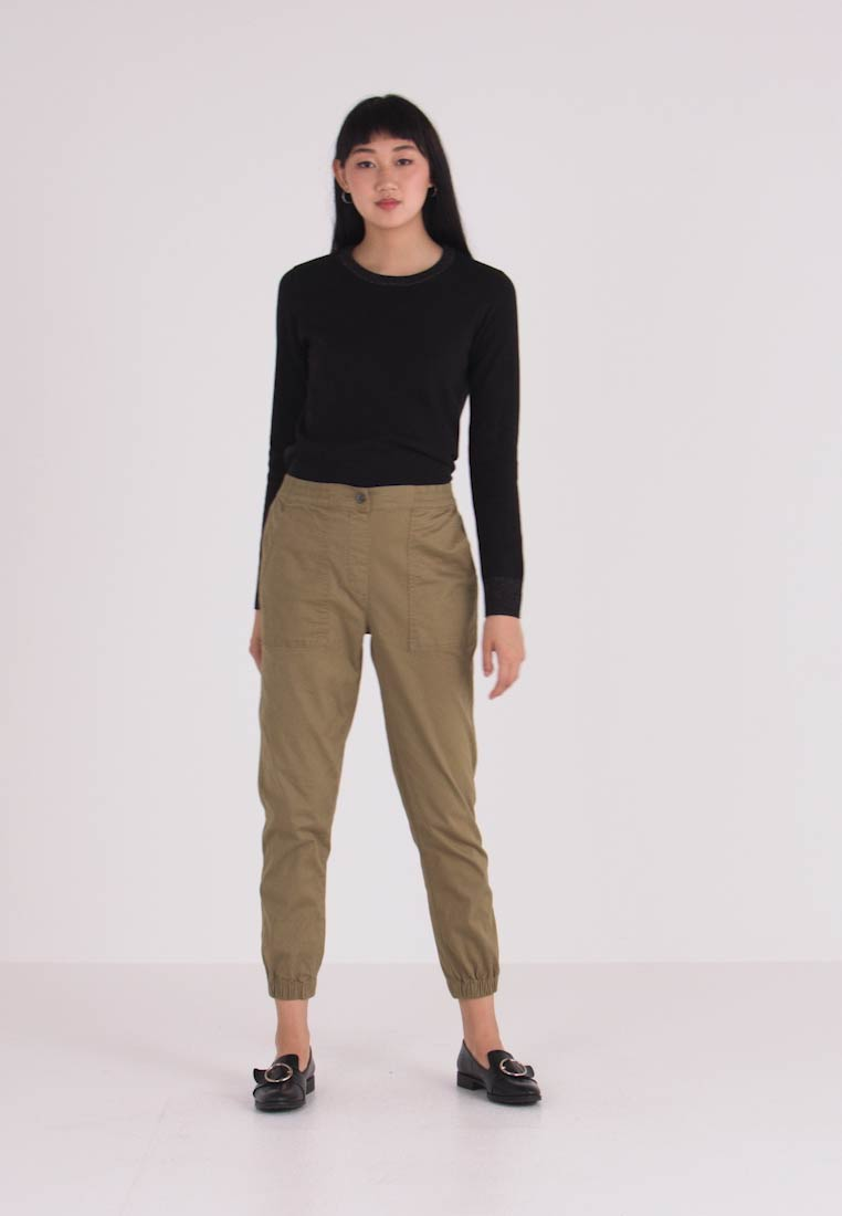 Cotton On - MID RISE CUFFED - Broek - light herb - 1