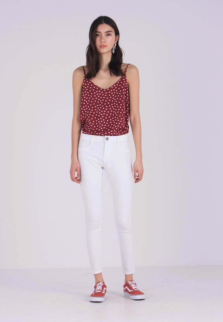 Cotton On - MID RISE - Jeans Skinny Fit - white - 1