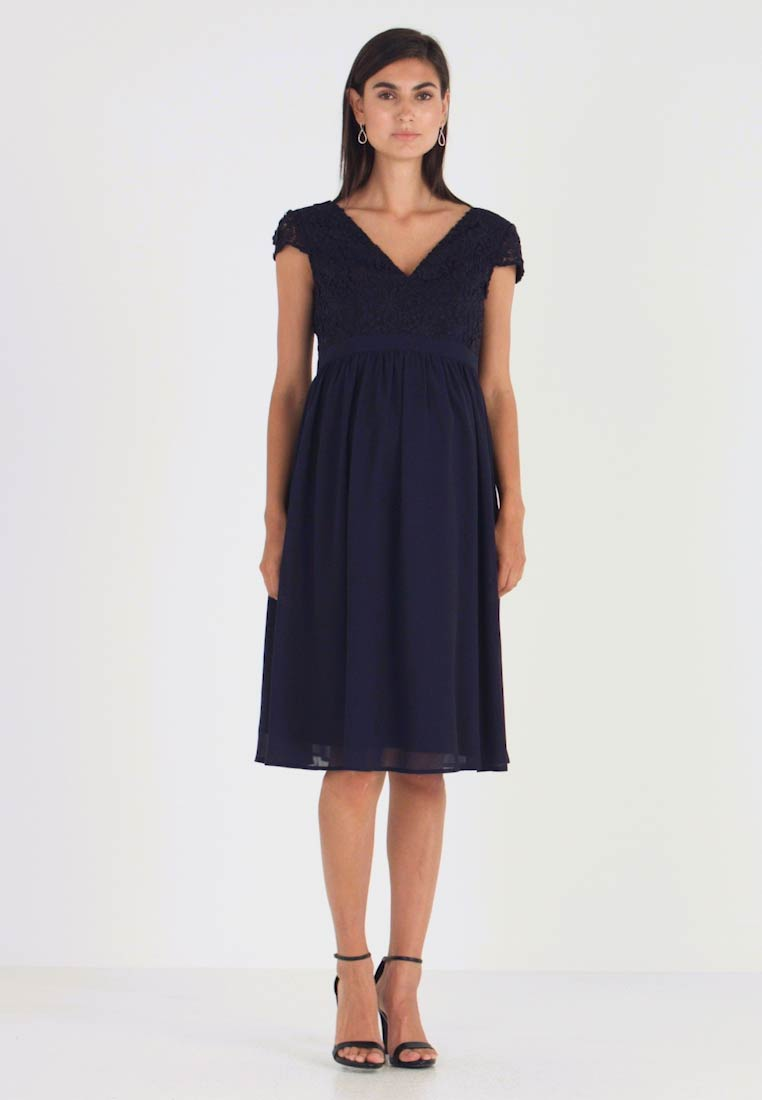 Chi Chi London Maternity - GLYNNIS DRESS - Cocktailjurk - navy - 1