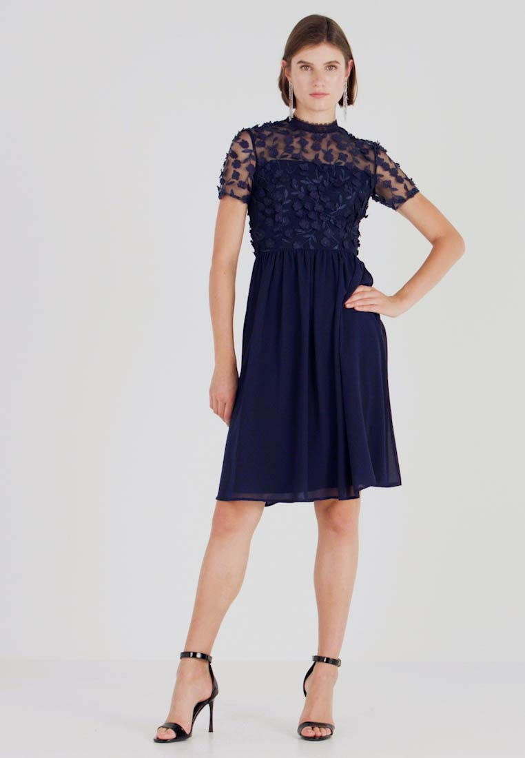 Chi Chi London - VERONA DRESS - Cocktail dress / Party dress - navy - 1