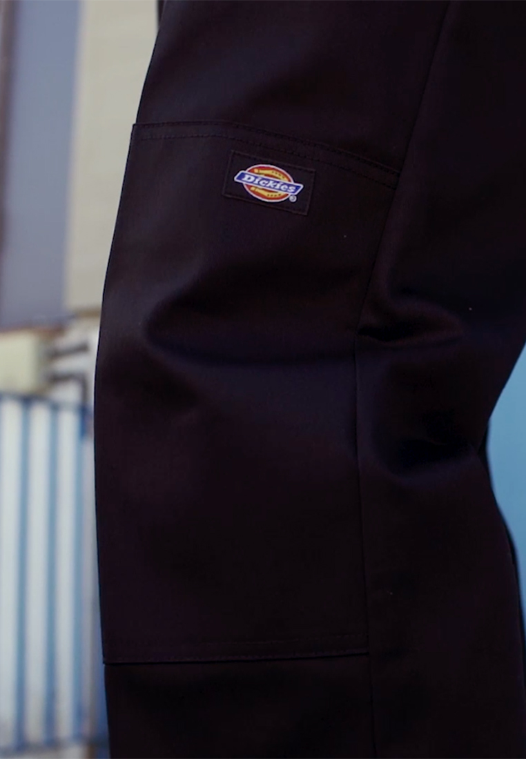 Dickies - DOUBLE KNEE WORK PANT - Stoffhose - black - 1
